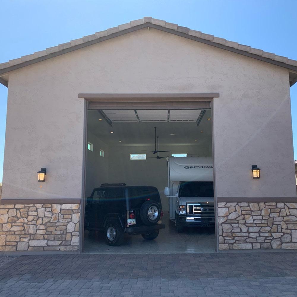 Detached Multi Car Garage Builders