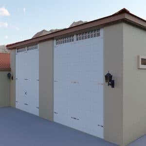 Custom Built Attached Garages