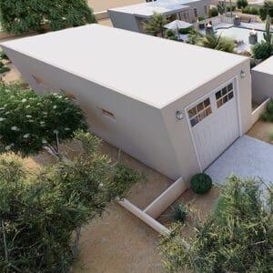 Arizona Detached RV Garage Builder