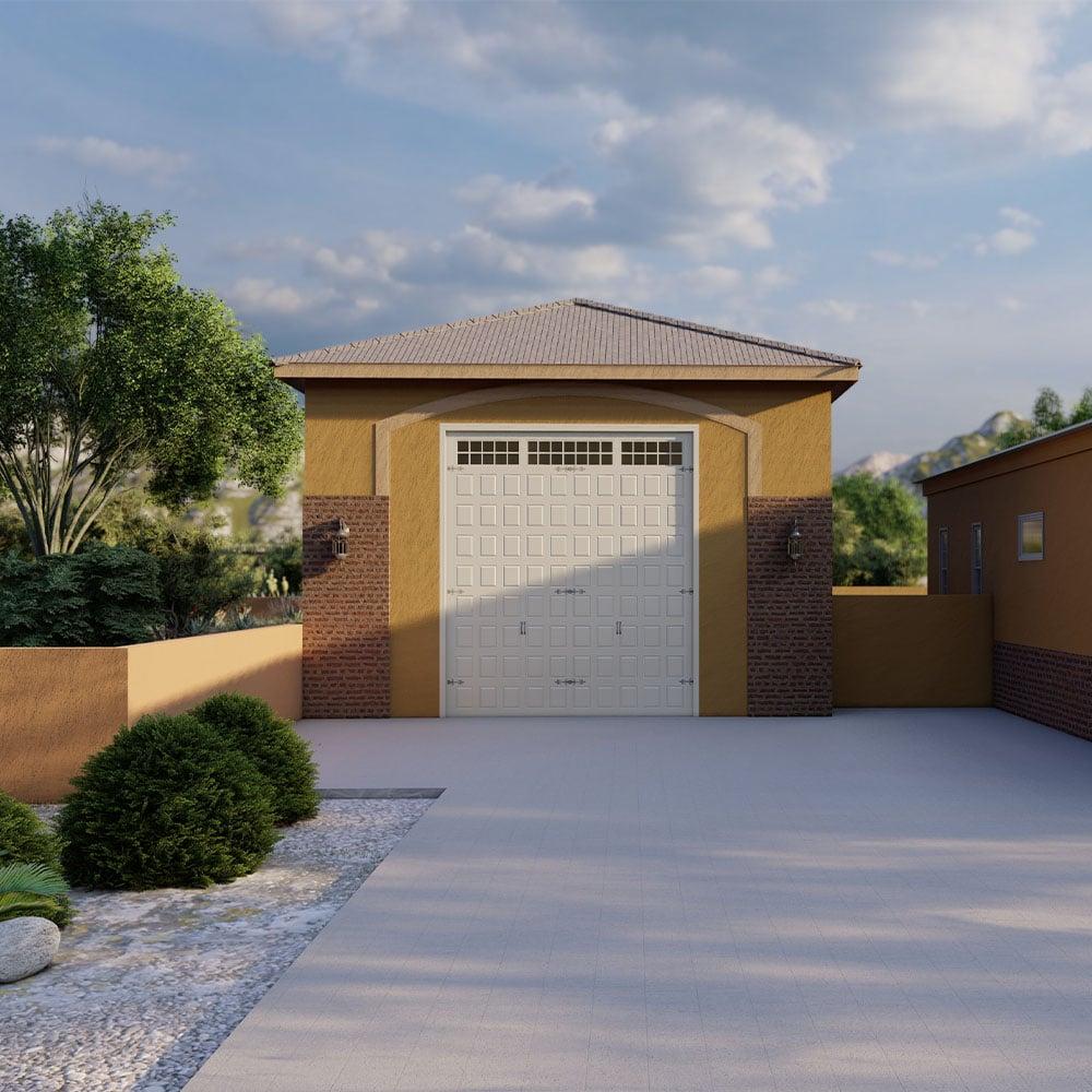 Garage Builders of Arizona 3D Rendering