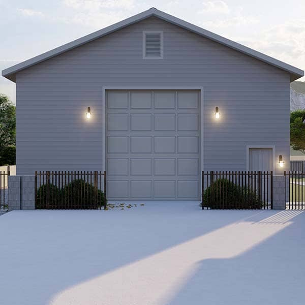 Custom Designed and Built Garage Arizona Garage Builders